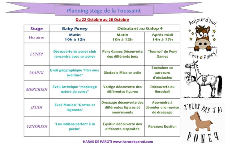 Stage toussaint 1